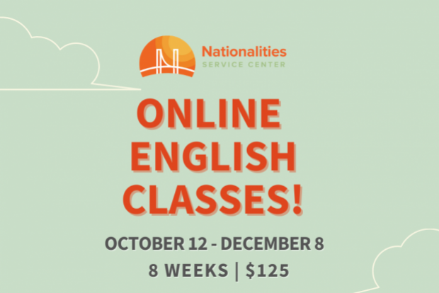 Online English Classes - Register now!